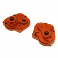 CNC Machined Aluminum HD Center Transmission Case for HPI Venture (Orange)