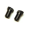 CNC Machined Aluminum Precision Rear Lock-outs for HPI Venture (Black)