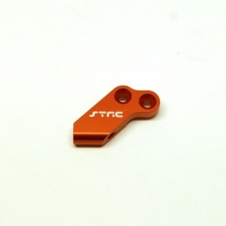 CNC Machined Aluminum Upper Panhard Mount for HPI Venture (Orange)