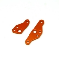CNC Machined Aluminum HD Steering Plate Set for HPI Venture (Orange) 1 pair
