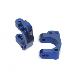 STRC CNC Machined Aluminum HD Front C-Hub Carriers (Blue)