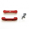 STRC CNC Machined Aluminum Rear Pivot Blocks (web limited, red)