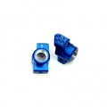 STRC CNC Machined Aluminum Hub Carriers SP2 style, 0 degrees toe-in (blue)