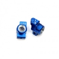 STRC CNC Machined Aluminum Hub Carriers SP2 style, 1 degrees toe-in (Blue)