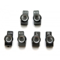 STRC Kyosho Rear Hub Carriers Tuner package set (0, 0.5, 1 deg.) Gun Metal