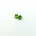 CNC Machined Alum. Spacers 6mm (1 pair) Green