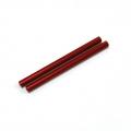 CNC Machined Aluminum Links (7x102.5mm) 1 pair Red