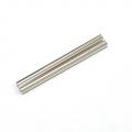 CNC Machined Aluminum Links (7x102.5mm) 1 pair Silver