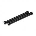 CNC Machined Alum. Threaded 6x55mm links (1 pair) Black