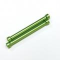 CNC Machined Alum. Threaded 6x55mm links (1 pair) Green