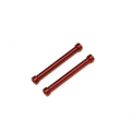 CNC Machined Alum. Threaded 6x55mm links (1 pair) Red