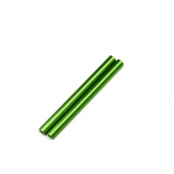 CNC Machined Aluminum 6x74mm threaded links (1 pair, Green)