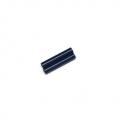 CNC Machined Alum. Threaded Links 6x33mm (1 pair) Blue