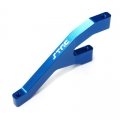 STRC CNC Machined HD Aluminum Front Chassis Brace for Ten-SCTE (Blue)