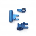 STRC CNC Machined Aluminum Steering Rack Set for Ten-SCTE (Blue)