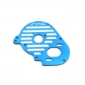 STRC CNC Machined Aluminum Heatsink Finned Motor Plate for XXX-SCT (Blue)