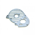 STRC CNC Machined Aluminum Heatsink Finned Motor Plate for XXX-SCT (Gun Metal)