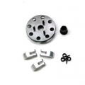 STRC CNC Machined 3-shoe style clutch kit for Revo/Nitro Slash (Gun Metal)