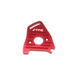 STRC CNC Machined Aluminum Heatsink finned motor plate for Slash LCG 4x4, Rally (Red)