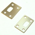CNC Machined Aluminum Chassis Protector Plates (Front & Rear) for Arrma Outcast 6S (S)