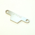 CNC Machined Alum. Battery Hold-down Plate for Rustler/Bandit (Silver)