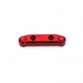 STRC CNC Machined Aluminum Front A-arm mount (1 pc) for SC10 4x4 (Red)
