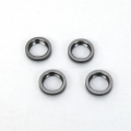 STRC CNC Machined Alum. Spring Collars w/o-ring (4 pcs) for SC10 4x4 (Gun Metal)