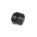 CNC Machined Aluminum Diff Cover for Axial SCX10 II (black)