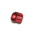 CNC Machined Aluminum Diff Cover for Axial SCX10 II (Red)