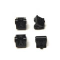 CNC Machined Aluminum Lower Shock/Suspension Link Mount (4 pcs) Black