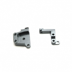 CNC Machined Aluminum Front Servo Mount Brackets (1 pair) SCX10 II GM