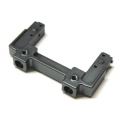 CNC Machined Aluminum Rear Bumper Mount/Chassis Brace For Axial SCX10 II (Gun Metal)