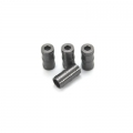 CNC Machined Aluminum high detail faux shock reservoir for SCX10, 4 pcs (Gun Metal)