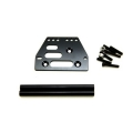STRC Aluminum front upper 4-link conversion kit for SCX10 (Black)
