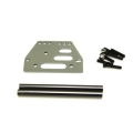 STRC Aluminum front upper 4-link conversion kit for SCX10 (Gun Metal)