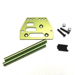 STRC Aluminum front upper 4-link conversion kit for SCX10 (Green)