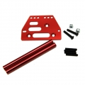 STRC Aluminum front upper 4-link conversion kit for SCX10 (Red)
