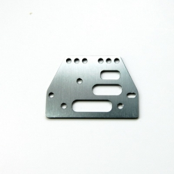 STRC CNC Machined Alum. Front or rear adj. 4 link Servo Plate for AX10/SCX10 (GM)