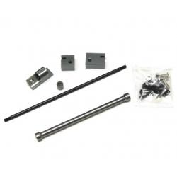 CNC Machined Aluminum Off-Axle Servo Mount/Panhard Kit for SCX10 (GM)