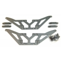 CNC Machined Aluminum Lift Kit for Axial SCX10 (Gun Metal)