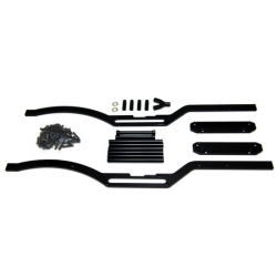 STRC Axial SCX10 Short wheelbase Chassis Conversion kit (Black)