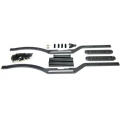 STRC Axial SCX10 Short wheelbase Chassis Conversion kit (Gun Metal)