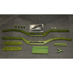 STRC Axial SCX10 Short wheelbase Chassis Conversion kit (Green, limited)