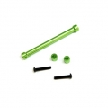 CNC Machined Aluminum Cross Brace and Shock Mount Spacer kit for SCX10 (Green)