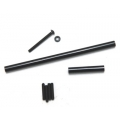 STRC Precision Aluminum Steering upgrade kit for SCX10 (Black)