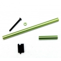 STRC Precision Aluminum Steering upgrade kit for SCX10 (Green)