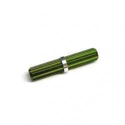 CNC Machined Aluminum Center driveshaft Spline for SCX10 (1 pcs) Green