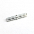 CNC Machined Aluminum Center driveshaft Spline for SCX10 (1 pcs) Silver