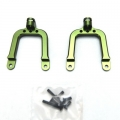 Precision CNC Machined Alum. Rear Shock Tower for SCX10 (Green) 1 pair