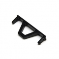 CNC Machined Aluminum Rear Chassis Rail Brace SCX10, SCX10 II (BK)